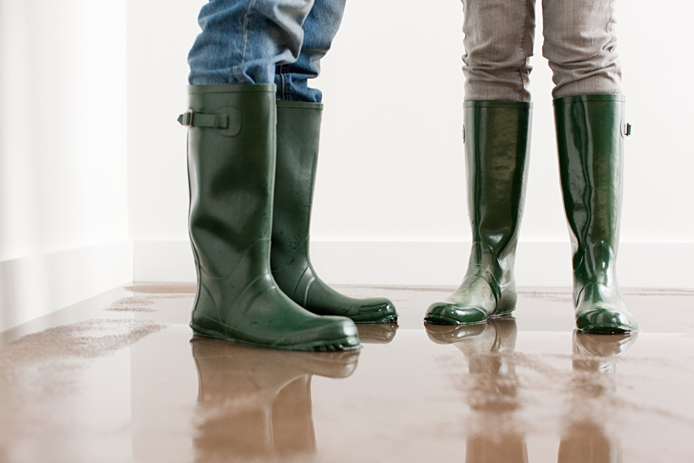 Tips for preventing flooding during the snowmelt runoff in the spring.