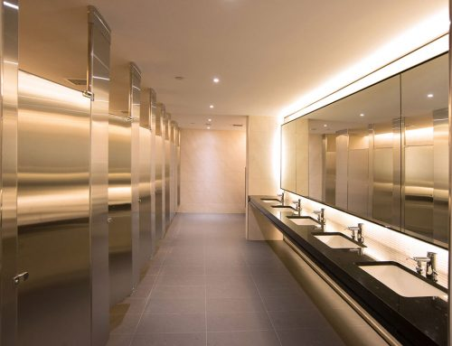 Using best practices for washroom maintenance helps to stop the spread of COVID-19